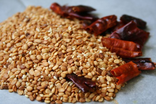 Chutney Podi Ingredients