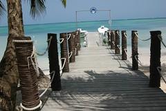 Embarcadero Punta Cana (manuelalbaruiz) Tags: españa art photoshop puente mar arte nikond70s embarcadero palmera puntacana 2007