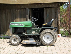 Day 125 - Lawn Tractor