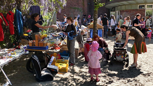 Kinderflohmarkt in Hamburg St. Georg