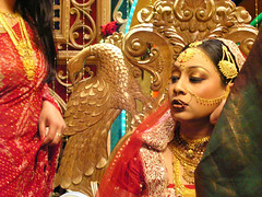 (*Bang Bang Boy*) Tags: wedding bride traditional pointandshoot dhaka bangladesh minoltadimagef200