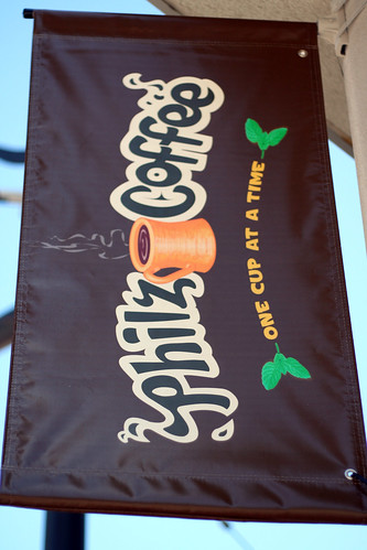 Philz Coffee signage