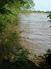 The Kaw at Lawrence (16) (Kaw Valley Heritage Alliance) Tags: river flooding lawrencekansas kawvalley