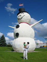 World's Largest Stucco Snowman