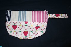 awesome amy butler pouch from Colleen (africankelli) Tags: mail sewing amybutler wristlet