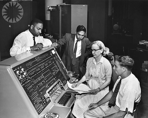 14 juin 1951 l 39 univac premier ordinateur commercialis - Invention premier ordinateur ...