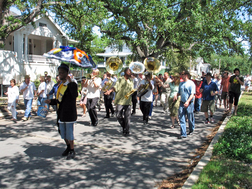 Second Line for Jessie Hill