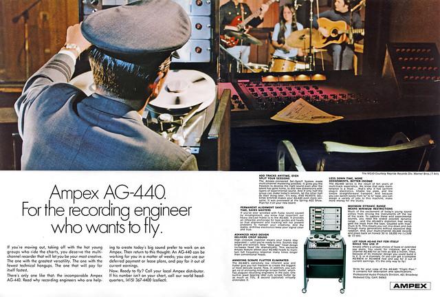 Ampex AG-440 1968