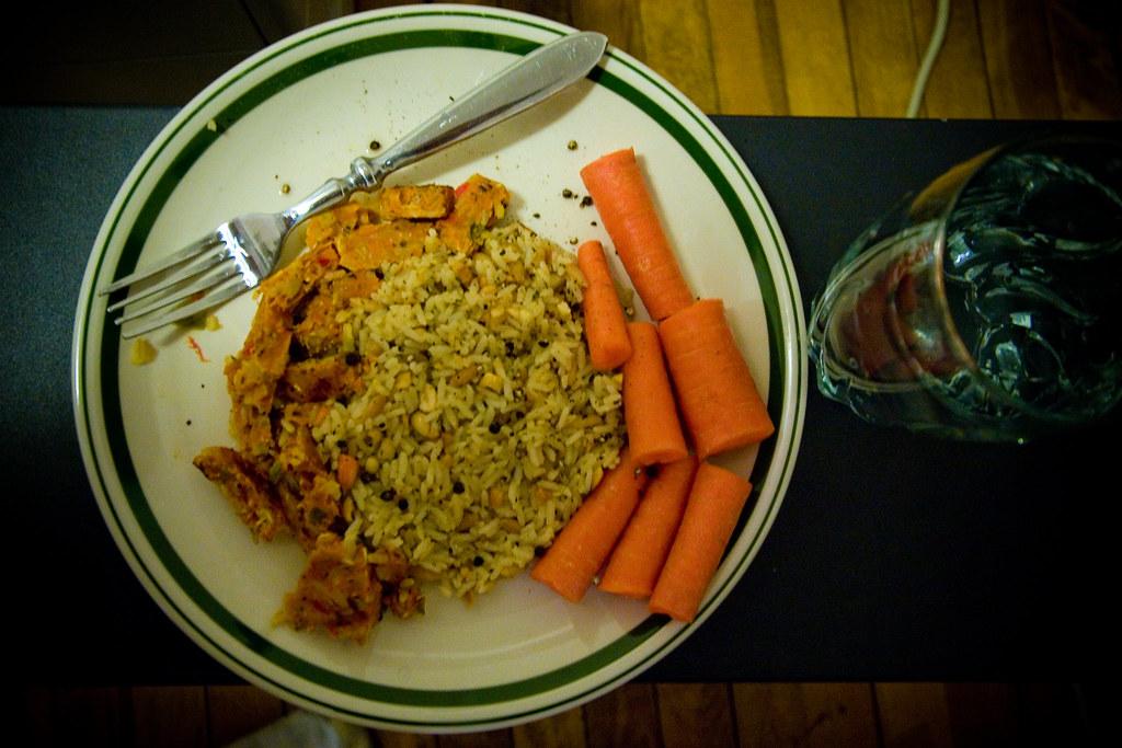 First Vegetarian Dish