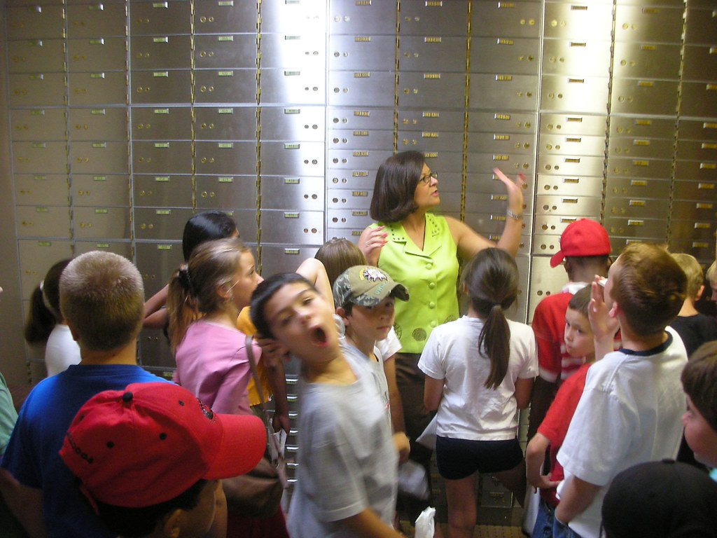 In the Bank Vault