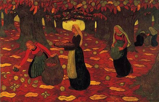 Georges Lacombe, Chestnut Gatherers, 1894