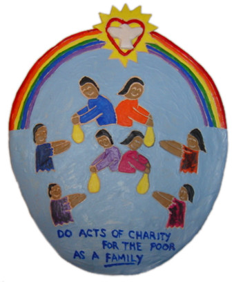 "art62 - ""Do Acts of Charity for the Poor as a Family"""