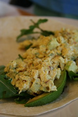Curried yogurt chicken salad