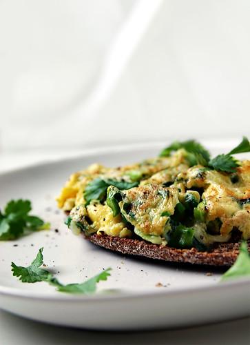 Black Radish Omelet