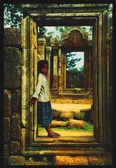 Angkor Wat Portrait (LindsayStark) Tags: travel portrait art girl war asia cambodia siemreap angkor wat postconflict waraffected conflictaffected earthasia