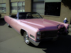 Everything in Texas is BIG or Pink (Chicago Love) Tags: pink cars texas houston cadillac carshow chicagolove