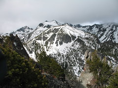 Enchantments Peak & Elf Ridge - Cannon Mtn is hidden #2. Coney Lake is in the drainage to the right