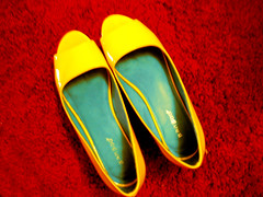 yellow shoes 2