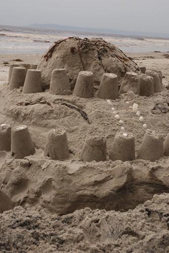 Volcano castle