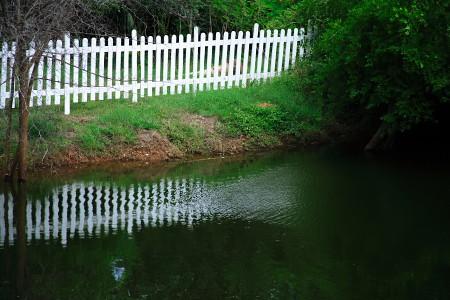 serene boundary...