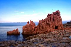 Red Rocks (sandropatrizia) Tags: sardegna sea canon mare sardinia redrocks arbatax naturesfinest ogliastra flickrsbest roccerosse holidaysvacanzeurlaub beyondexcellence flickrchallengewinner sandropatrizia thechallengegame challengegamewinner masterclass16