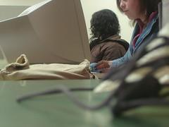 alunos no curso de multimédia