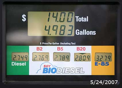 May 24, 2007 Renewable Fuel price
