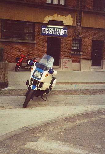 Politie Anderlecht Het Rad - foto Wimkess