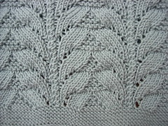 Surplice top close up