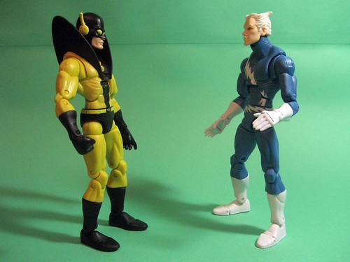 Yellowjacket and Quicksilver