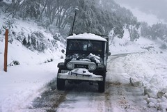 197509 112 Adaminaby (williewonker) Tags: new snow mountains wales highway snowy south australia 4wd kodachromeslide superbmasterpiece