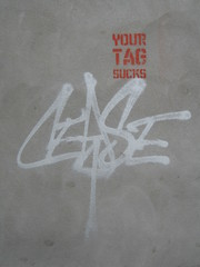 Your Tag Sucks (Z303) Tags: streetart graffiti tag