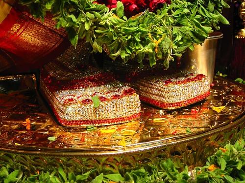 Sri Sri Srinivasa Govinda's Lotus Feet