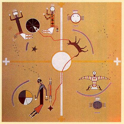 Les quatres mondes (Navajo)
