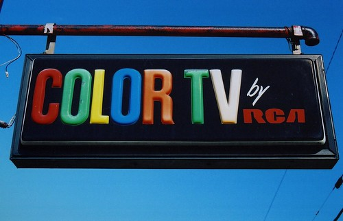Color TV by RCA