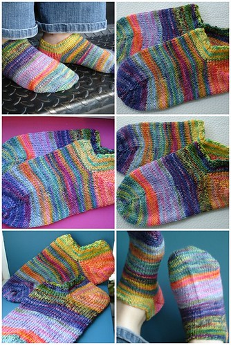 Koigu Scrap Socks