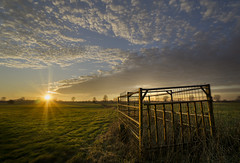 Sundown over the fields (RigieNL) Tags: sundown sunset sunray sunrays gennep limburg netherlands nederland nature landscape landschap natuur holland sony sonya6000 hdr