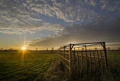 Sundown over the fields (RigieNL) Tags: sundown sunset sunray sunrays gennep limburg netherlands nederland nature landscape landschap natuur holland sony sonya6000 hdr
