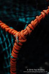 Binding (ScudMonkey) Tags: binding c2016paulbradley lobster creel orange fishing industry staithes northyorkshire coast lowkey canon 6d ef50mmf18ii