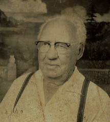 Photo Booth (~ Lone Wadi Archives ~) Tags: photobooth portrait oldman lostphoto foundphoto mysterious unknown retro 1950s