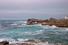 Seacoast in Brittany... (Djteddy) Tags: sea france nature rock landscape brittany bretagne cte paysage scenes rocher seacoast beautifulscenery heavyweather intempries cotcbestof2006