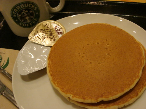 pancakes of Starbucks