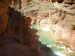 Lower Havasu Canyon and Trail