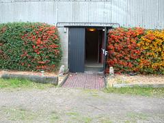 Vajrasana shrine room entrance