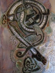 Celtic Dragon Embroidery