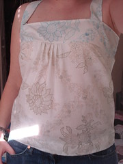 Smocked top (stupid clever) Tags: sewing sew wardroberefashion smockedtop pillowcasetop