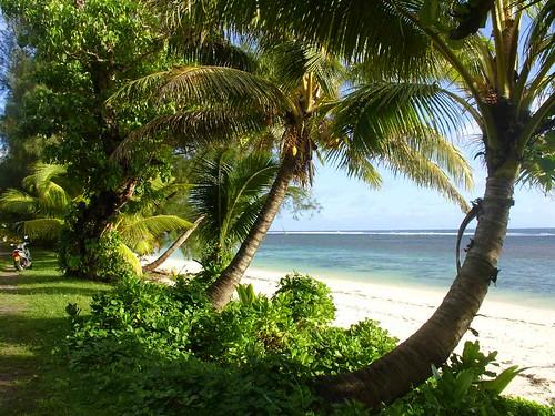 Beach on Rarotonga