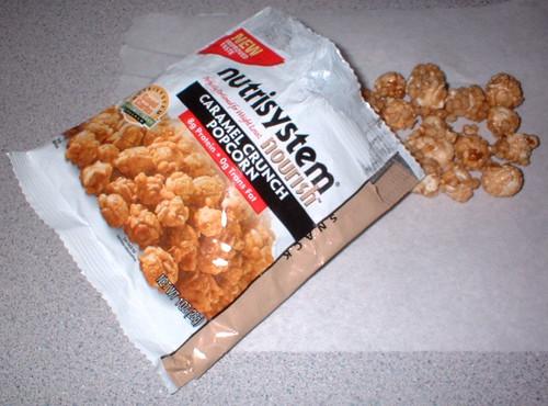NutriSystem Caramel Crunch Popcorn dessert