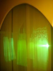 Ghostly bath curtain (Abby Phoenix) Tags: barcelona europe casabatll