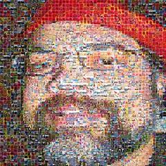 My eMosaic Portrait (Elderbear) Tags: selfportrait emosaic